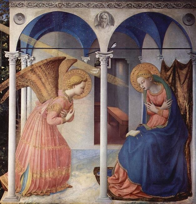Beato Angelico (1395 c.-1455), Museo del Prado, Madrid (dettaglio)