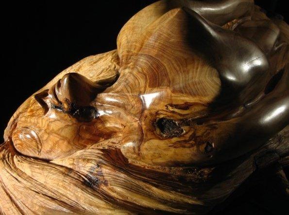 RINASCITA, legno di ulivo