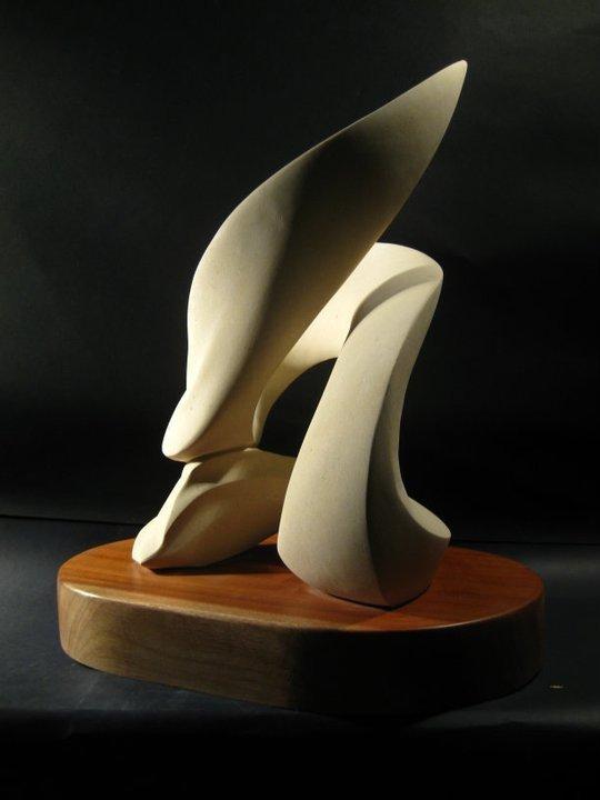 SENZA FINE, pietra leccese-legno