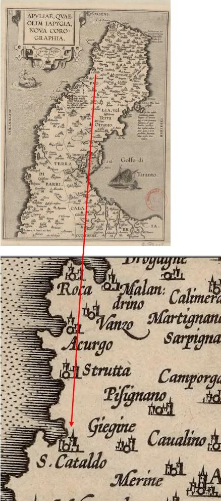 I castelli di Terra d'Otranto tra il 1584 e il 1610 in una relazione manoscritta del 1611: TORRE DI SAN CATALDO (5/6)