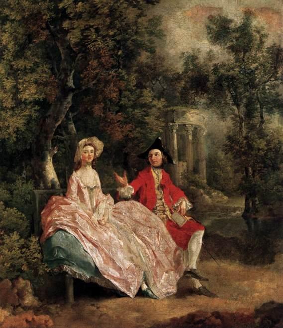 Gainsborough, la passeggiata