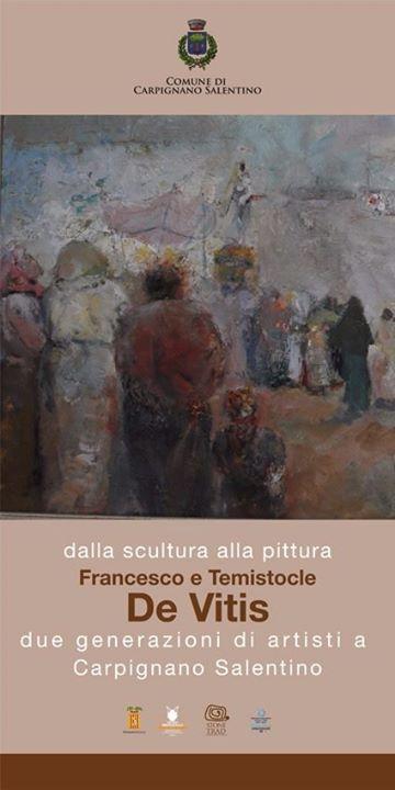 Francesco e Temistocle De Vitis, due generazioni di artisti a Carpignano Salentino