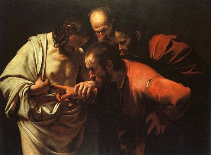 Caravaggio San Tommaso