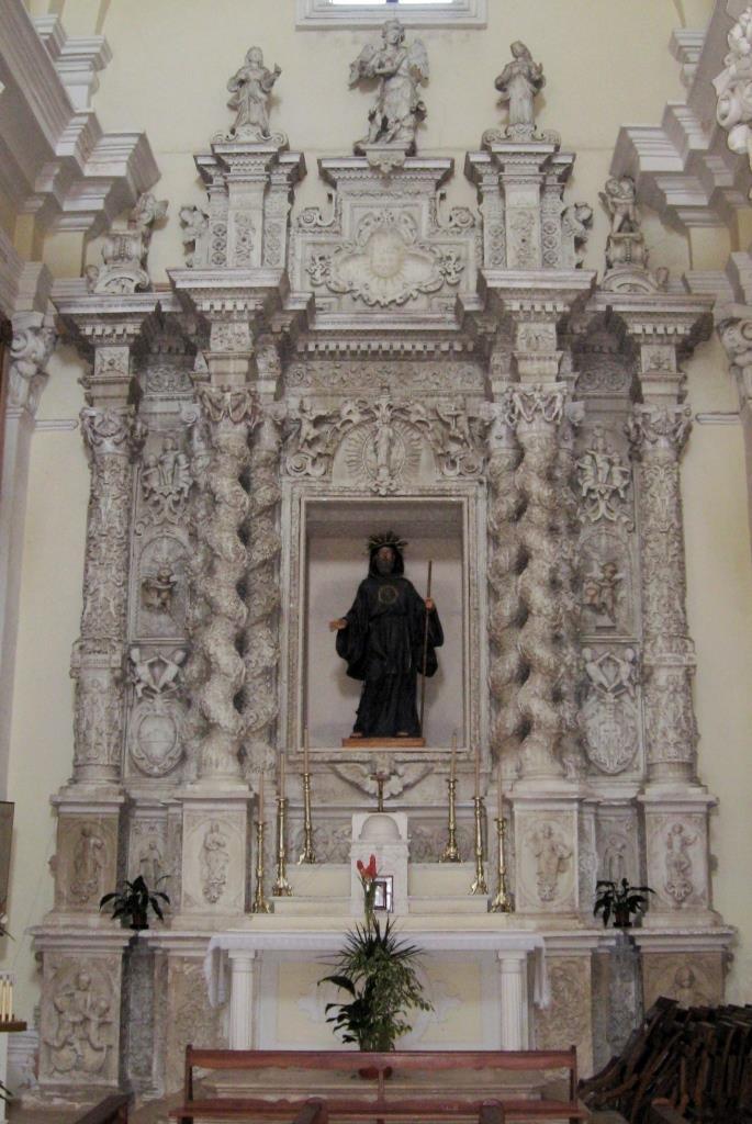 altare di San Francesco da Paola