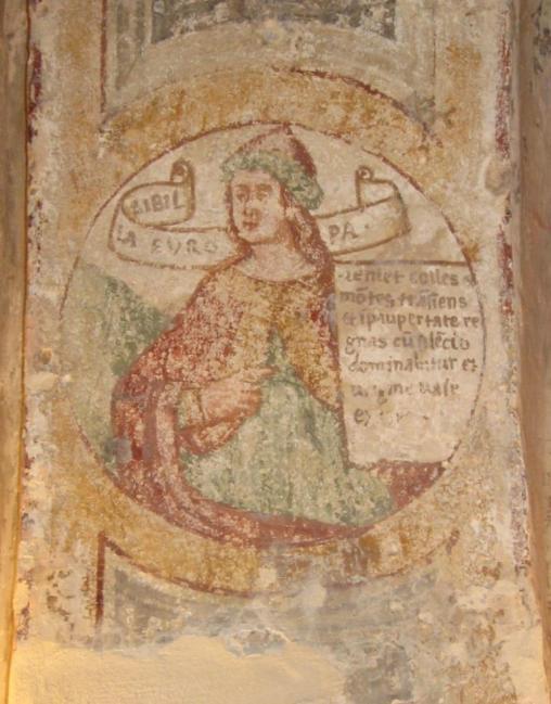 Sibilla Europa, in S. Maria di Casole