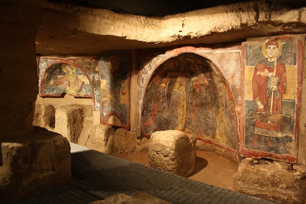 Gli affreschi della cripta di S. Maria degli Angeli a Poggiardo (Le)