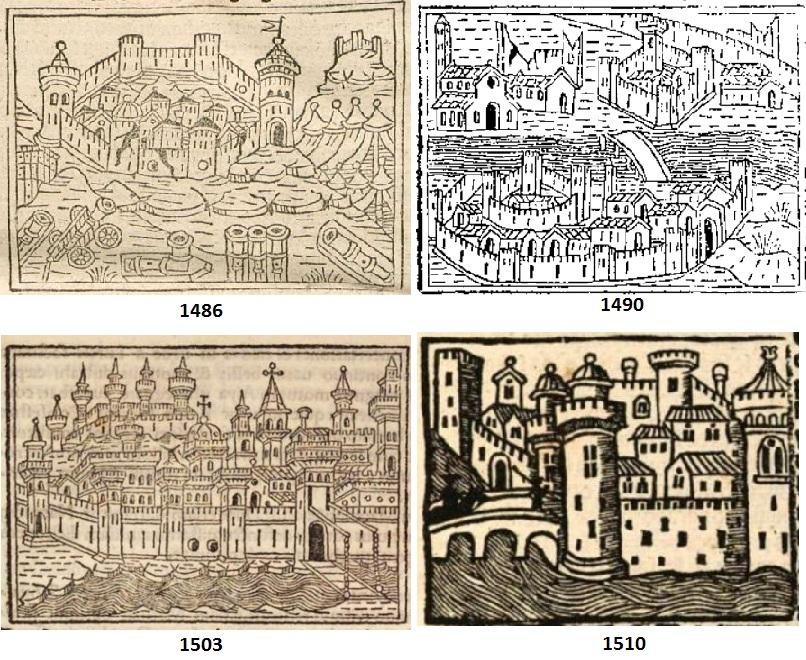 Le quattro più antiche mappe a stampa di Otranto, forse … (1/?)