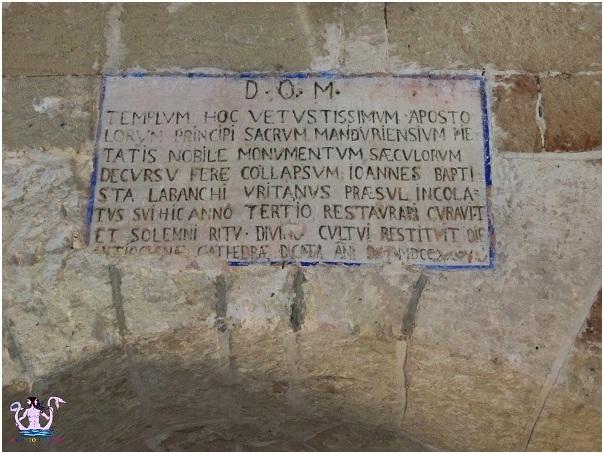 Manduria: un'iscrizione, un romanzo storico, un reportage