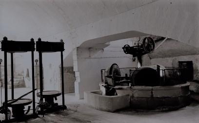 vecchio frantoio a Borgagne