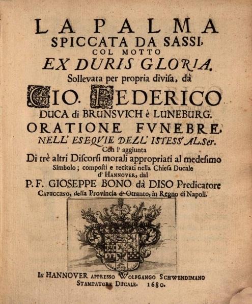 Giuseppe Bono da Diso e S. Giuseppe da Copertino