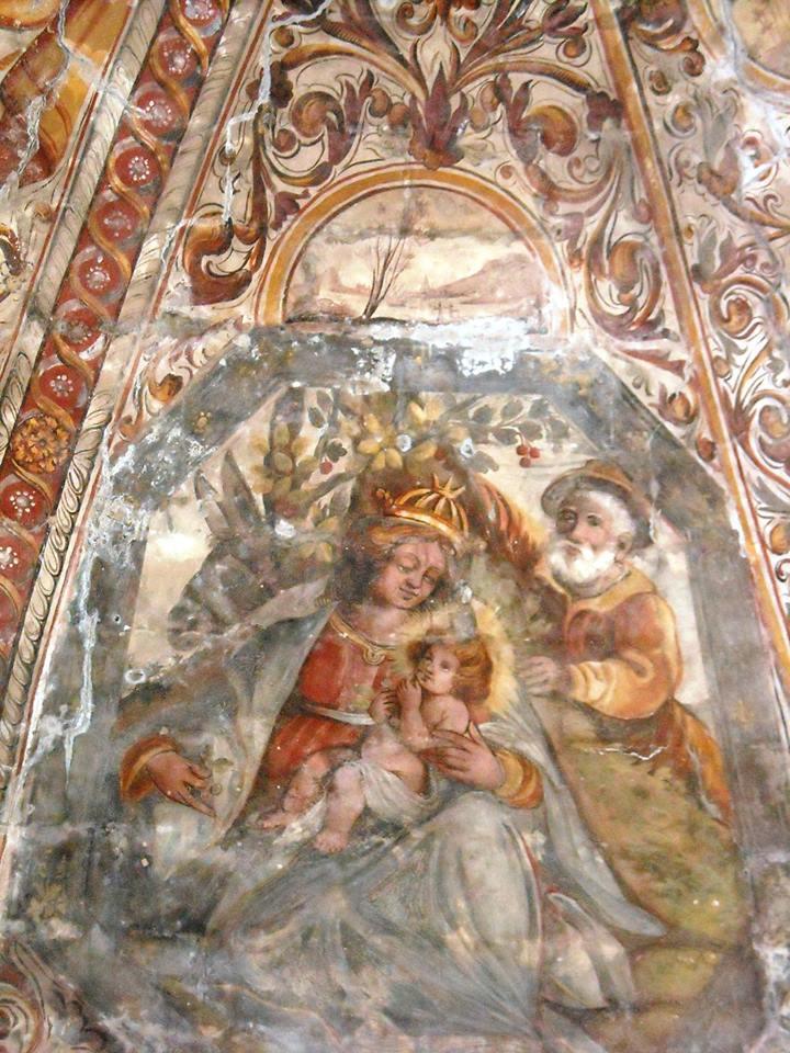 La cappella di S. Maria di Costantinopoli nel centro storico di Copertino