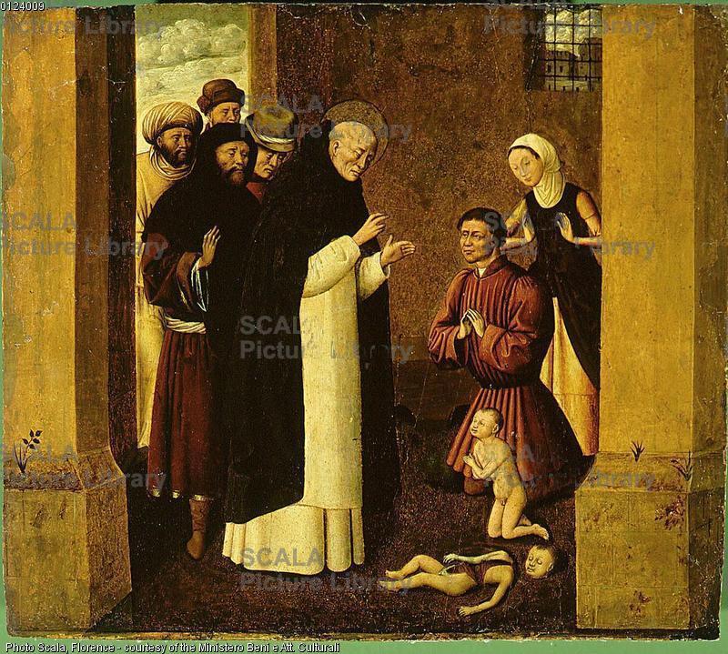 Nardò: un miracolo di S. Vincenzo Ferreri in un affresco del Museo diocesano
