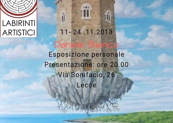 Esposizione personale di Daniele Bianco a Lecce