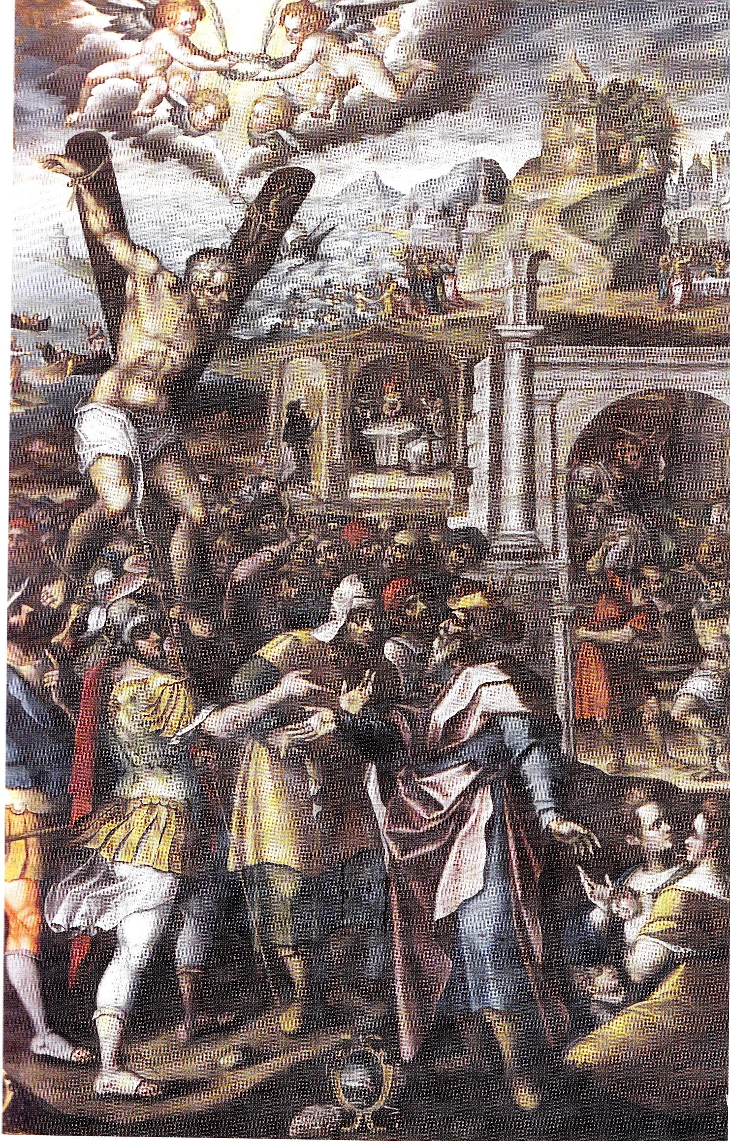 Presicce, il suo patrono Sant'Andrea e la tela del suo martirio, opera del Catalano
