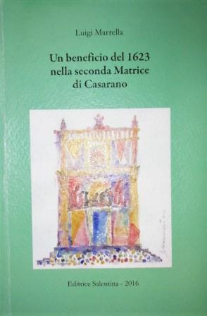 Un beneficio del 1623 nella seconda Matrice di Casarano