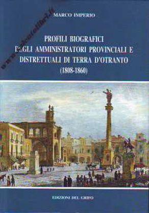 Libri| Profili biografici degli amministratori di Terra d'Otranto