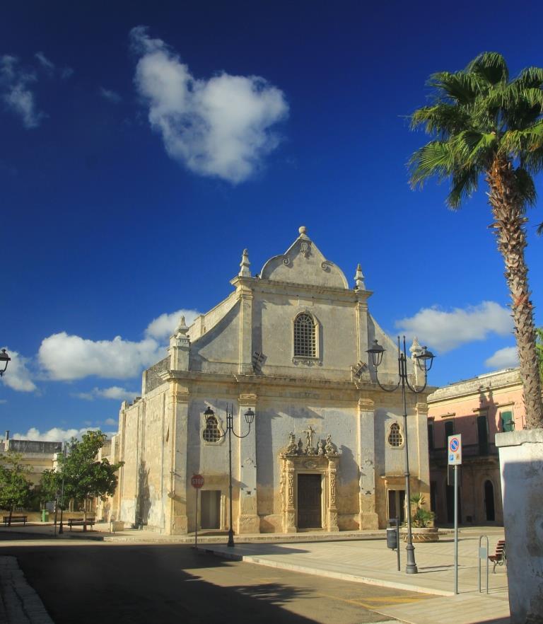 Il portale della chiesa matrice diOrtelle