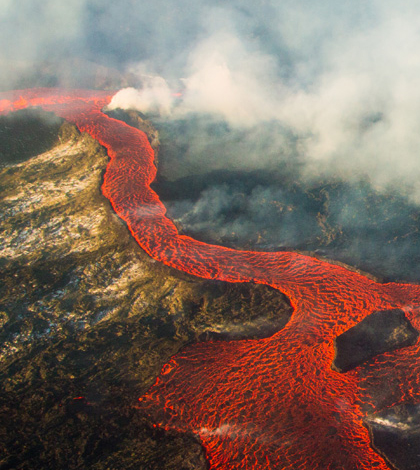 Image result for Blood flows to the volcano center