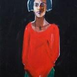 Franco-Portugaise, Serge Labégorre 2020, 40F 100x81 cm at#07