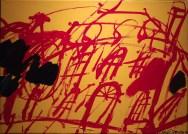 Chateauneuf, Labégorre 1992_35x50cm ass 10M acrylique sur toile