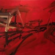Chemin de Caillaux, Labégorre 2014_40x60 cm 12M acrylique sur toile