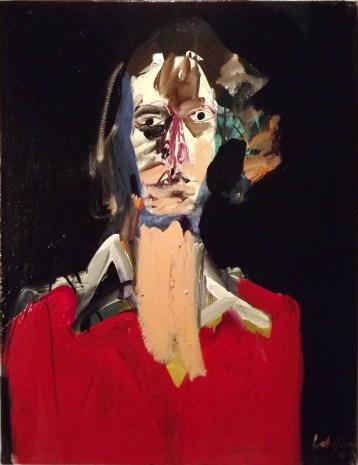 Francesca, Serge Labegorre 2014, 65x50 cm 15P acrylique sur toile
