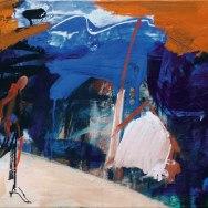La descente sur Gan,Labégorre 2014_55x38 cm 10P acrylique sur toile