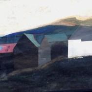 La ferme Miramont, 2, Aramits, Serge Labegorre 1964_70x100 cm_40P_gouache sur papier