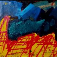 Saint Sozy, Serge Labégorre 1994_35x50 cm ass 10M acrylique sur toile