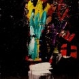 Bouquet, Serge Labégorre 1998, 12F, 61x50cm ab#03 B