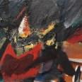 Ciel d'orage, Serge Labégorre 1959, 50x65 cm 15P at#01