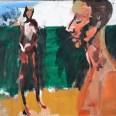 Couple à Hossegor, Serge Labegorre 2010, 60x80 cm 25 P ab#02