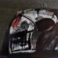 Crâne profil, Serge Labégorre 2011, 60x73cm 20F at#04