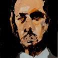 Etude pour un portrait de mon père. Serge Labégorre 2017, 41 x 27 cm P at#02