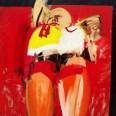 Femme étendue, Serge Labégorre 2001, 146x114 cm 80F at#2 02