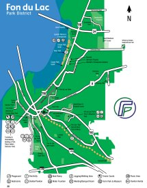 Map Of Parks And Facilities - Fondulac Park