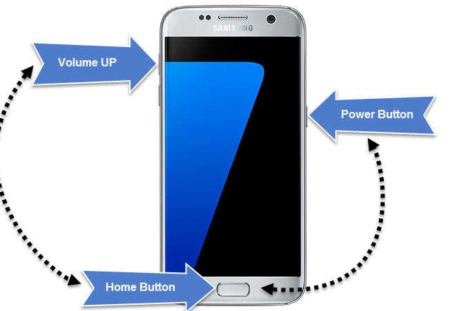 Hard Reset Fix Samsung Black Screen of Death