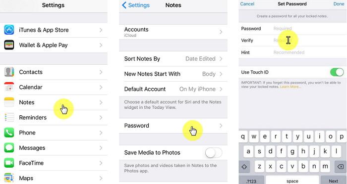 關於如何鎖定iPhone上的筆記的簡單提示和指南
