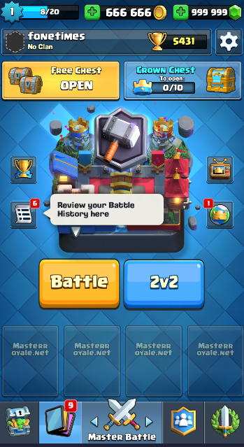 private server clash royale how to download