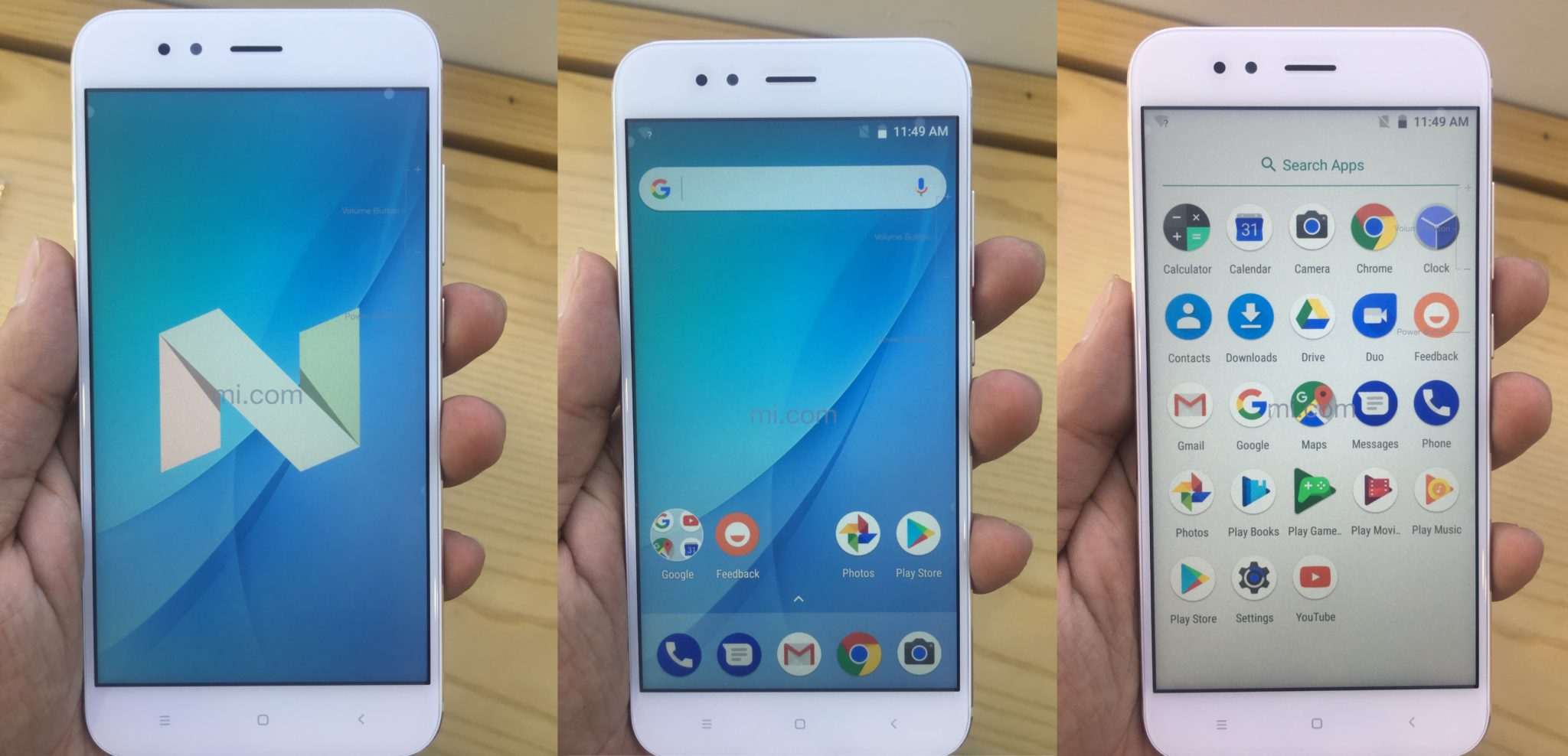 Xiaomi Mi A1 Full Specification Unboxing Images Key