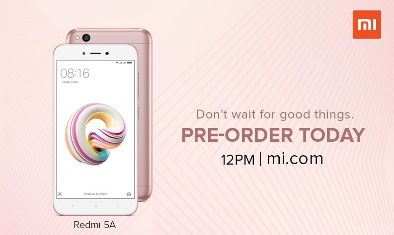 Redmi 5A Rose Gold-FoneTimes