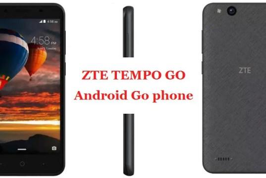 ZTE Tempo Go_FoneTimes
