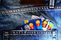 credit cards in pocket