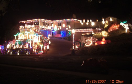 2007 Christmas lights