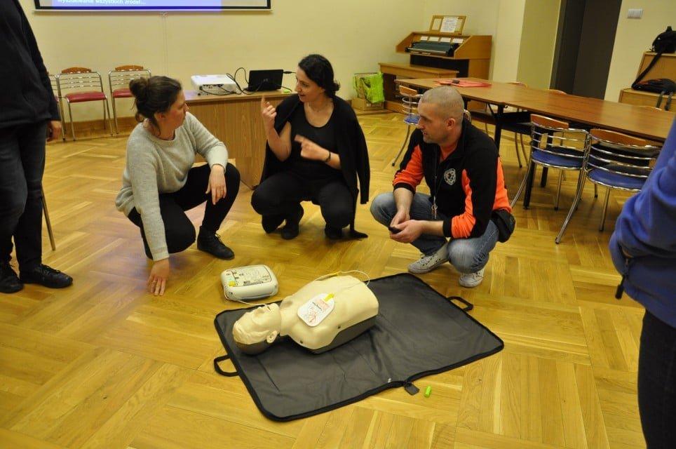 """kurs pierwszej pomocy i obsługi aed2 - Kurs pierwszej pomocy i obsługi """"AED"""""""