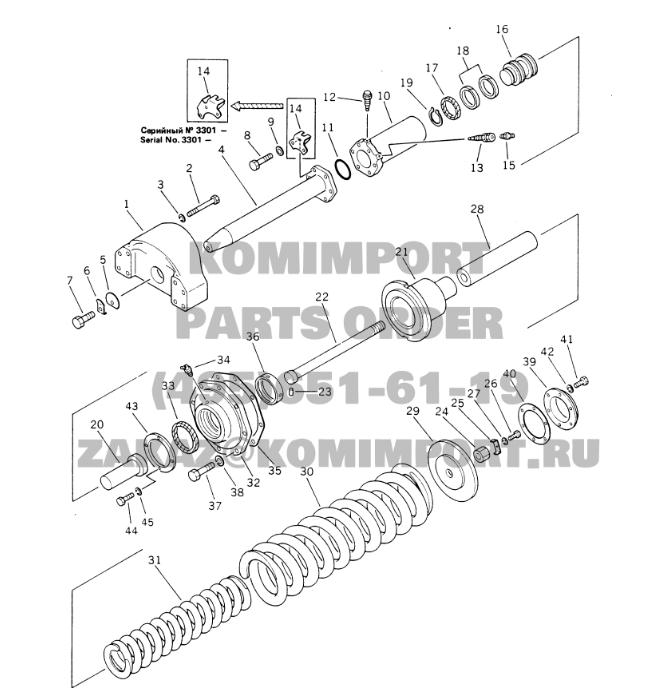 part No.:195-30-18271, packing use for komatsu excavator