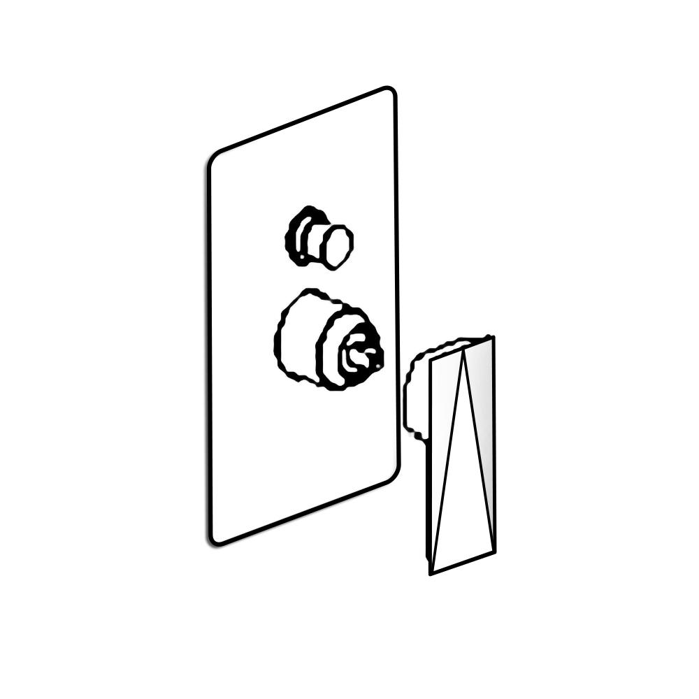 Bravat Gold Shower Mixing Valve Installation Instructions