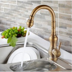 Brass Faucet Kitchen Garbage Can Cabinet Amasra Antique Sink With Hot And Cold Mixer Is A Beautiful From Our Range It Features Unique Design Tall 9 4 The Spout Handle Come In