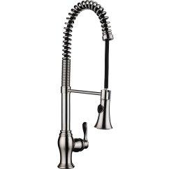 Single Handle Kitchen Faucet With Sprayer Delta Izak Campania Sink Pull Down