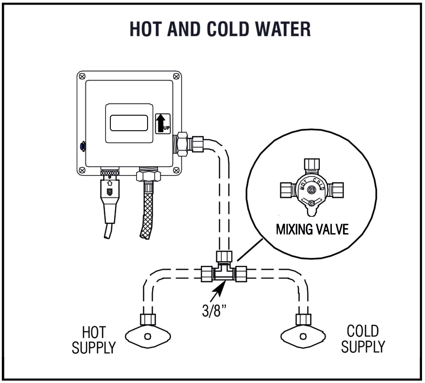 Shop Fontana Wella Goose Neck Automatic Sensor Faucet at